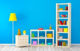 Children's Bedroom Shelves