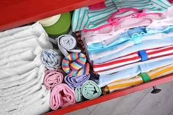 Children's Clothing Storage